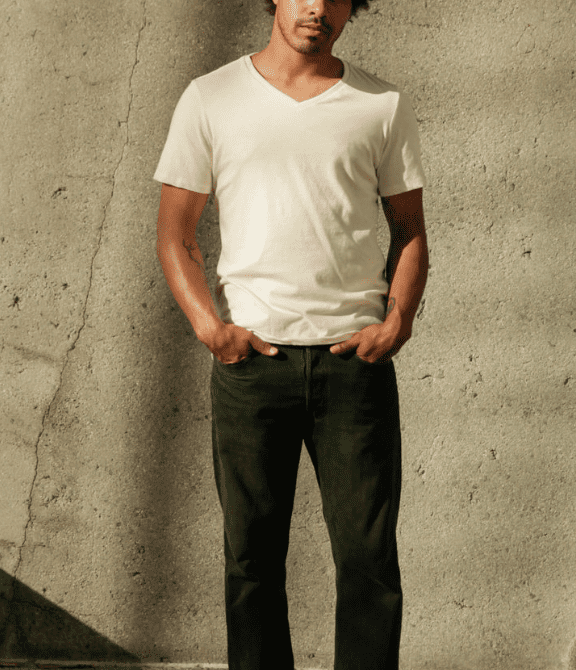 Men's Organic V Neck — Harvest & Mill | organic cotton clothing | grown & sewn in USA