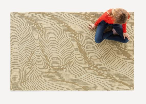Amber Waves Rug | Burrow