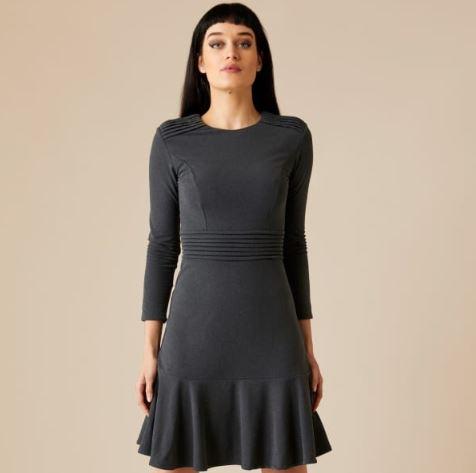 Olesya Brushed Recycled Dress