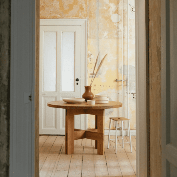 Natural Wood Desks and Tables | Modern Wood Furniture