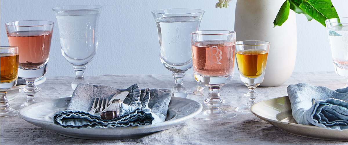 Recycled Glassware to Sip From