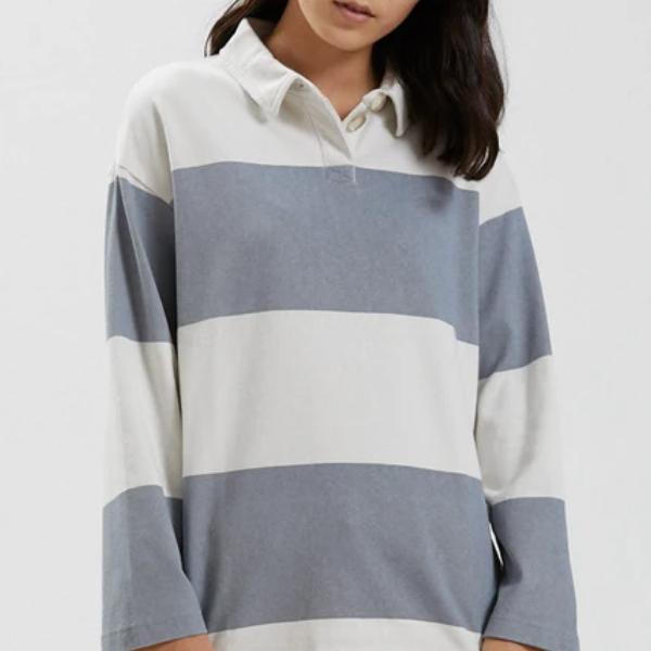 Organic Polo Sweatshirt