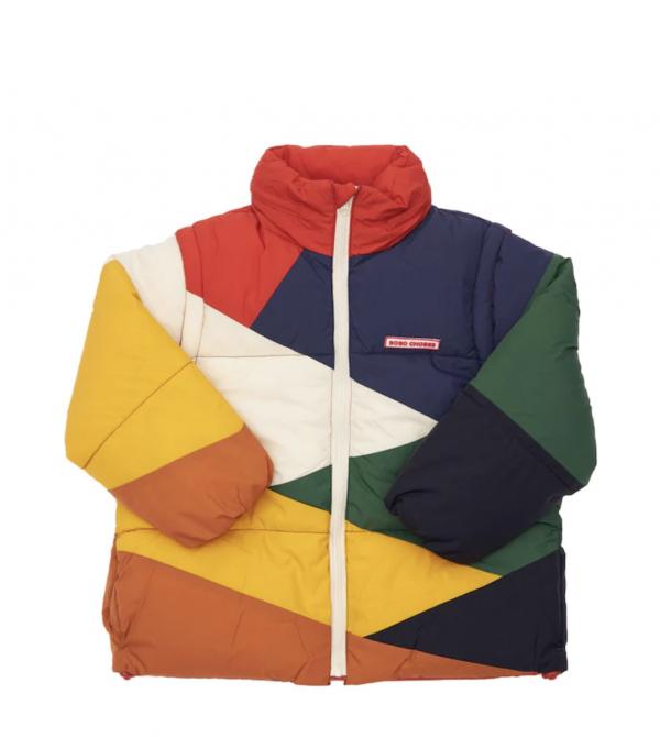 Recycled Nylon Puffer Jacket