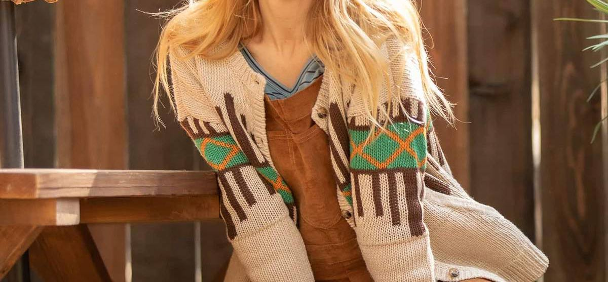13 Organic Cardigans & Sweaters for Women