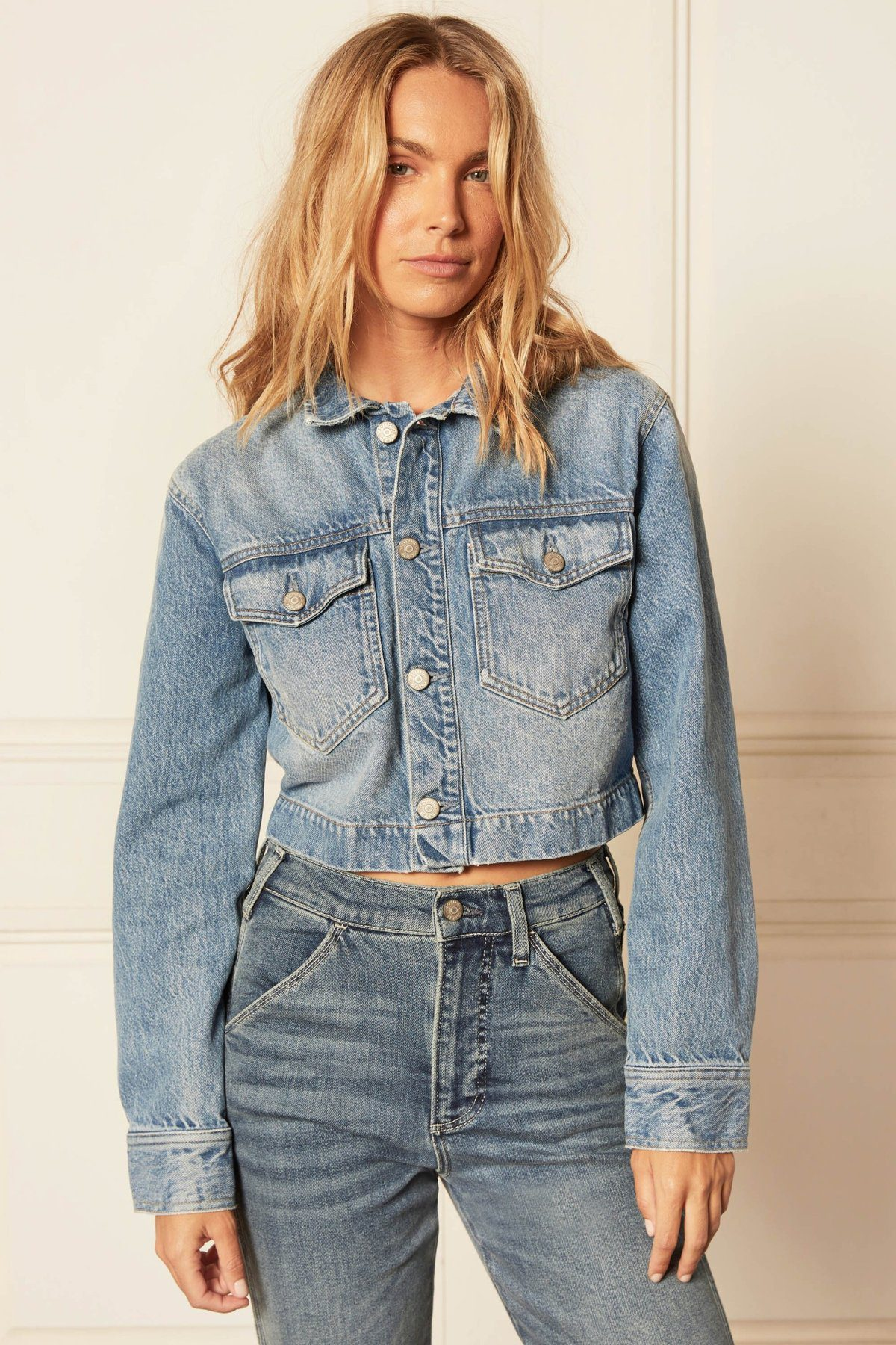 12 Best Sustainable Denim Jackets Sourced From Organic Cotton - Homepage