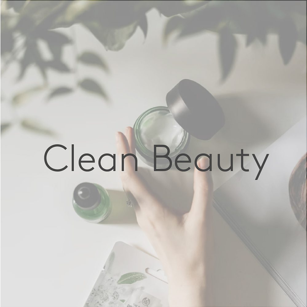 Clean beauty category
