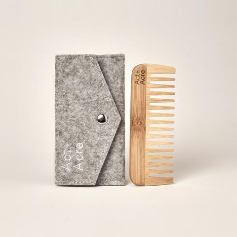 Organic Bamboo Comb