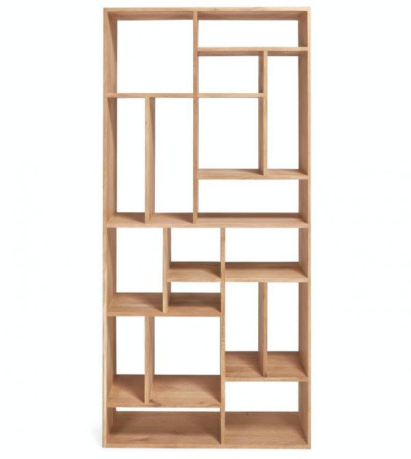 Large Oak M Rack Bookcase