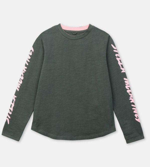 Logo Cotton T Shirt – Stella Mccartney Kids