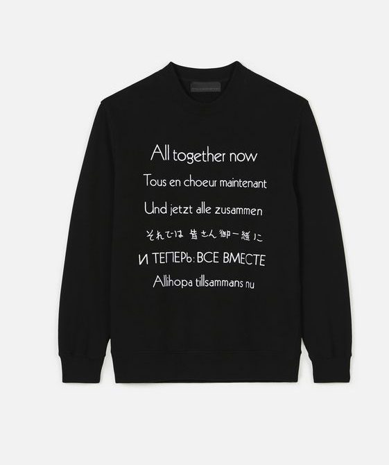 All Together Now Sweatshirt – Stella Mccartney Men
