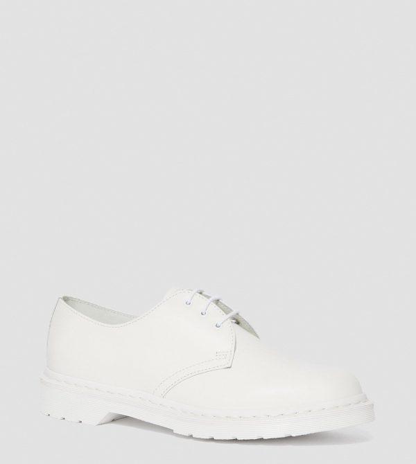 MONO SMOOTH LEATHER OXFORD SHOES
