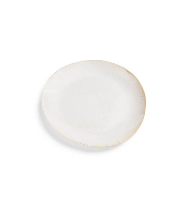 Porcelain Dinner Plate White