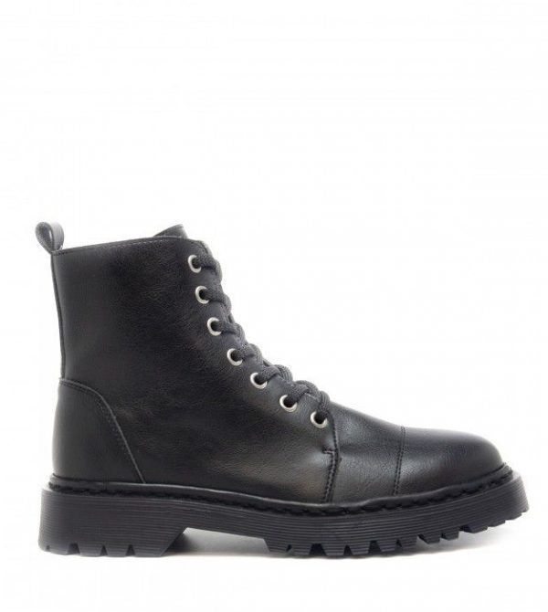Vegan Boots – Harley Black