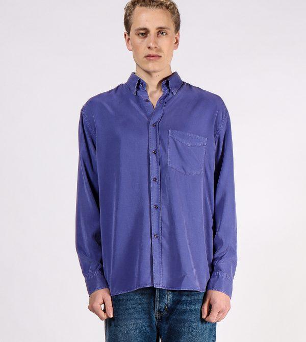Regular Fitting Purple Shirt