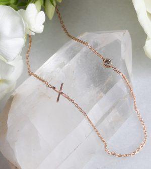 'XO' Diamond Necklace