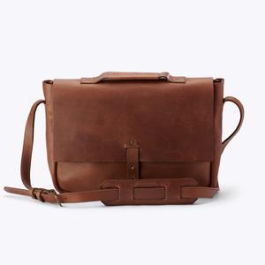 Loreto Messenger Bag Chestnut