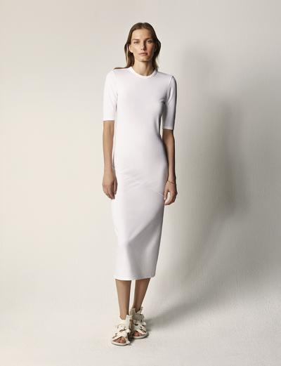 Elbow Sleeve Dress | Another Tomorrow