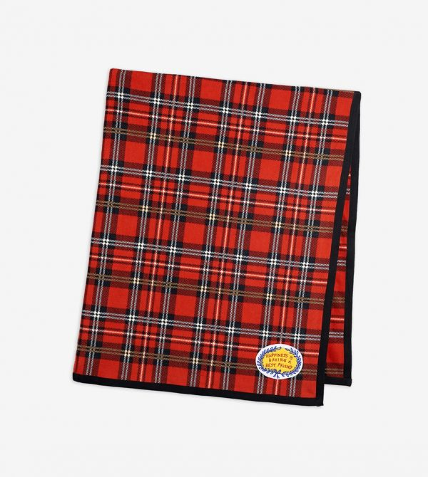 Fleece Blanket (Red Check)