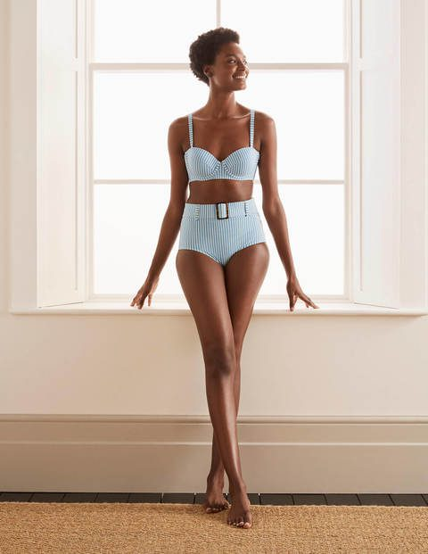 Kythira Cup-size Bikini Top – Hazy Blue