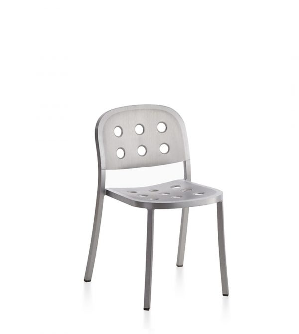 1 Inch All-Aluminum Stacking Chair