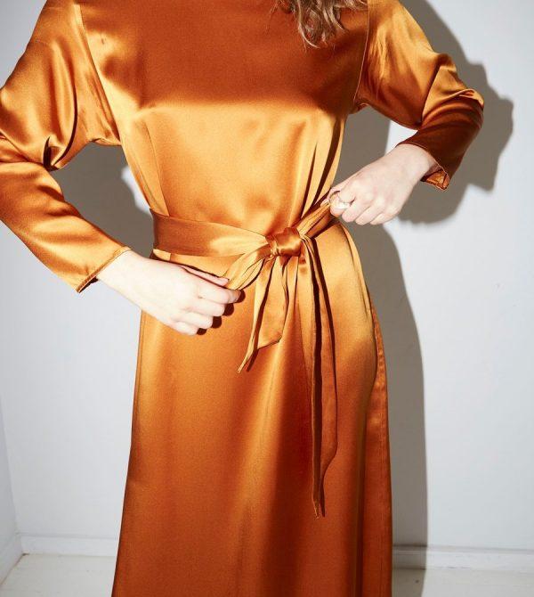 Gold Amber Ava Dress