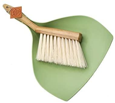 Mini Bamboo Broom & Dustpan Set
