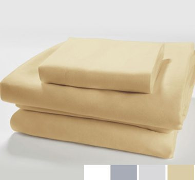 Live Good Organic Supima Cotton Sateen Sheet Sets