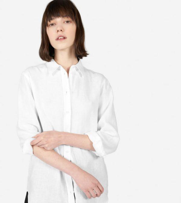 The Linen Relaxed Shirt – Everlane