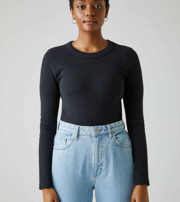 Buy Jonesy Long Sleeve – Black Online | Neuw Denim