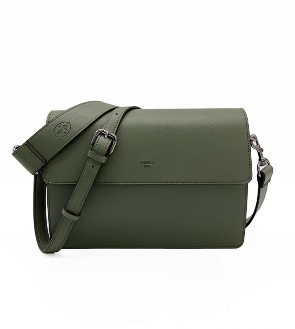 Hamilton Shoulder Bag [Signet] – Deep Olive