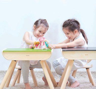 Eco-Friendly Little Kids Desk & Chair