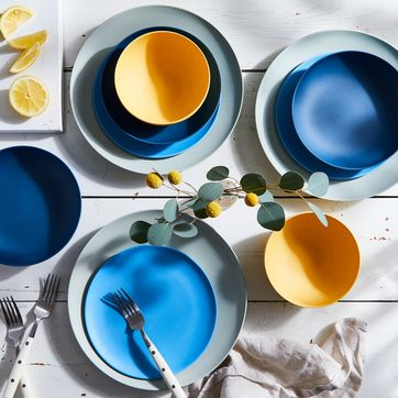 Fable Colorful Bamboo Dinnerware