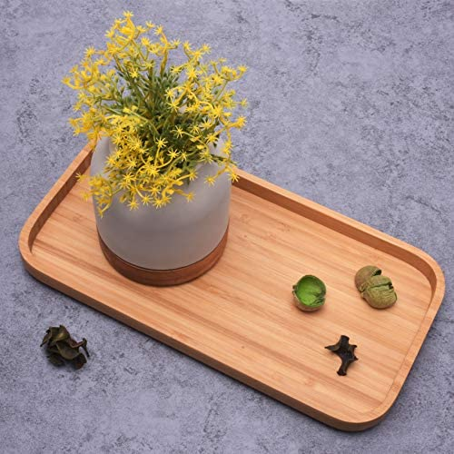 Bamboo Tray for Bathroom and Home Decor