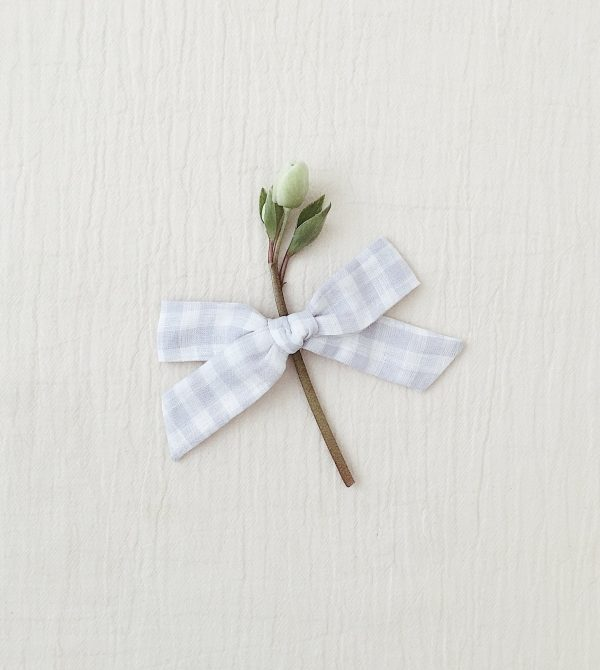 Oversized Schoolgirl Bow, Gingham