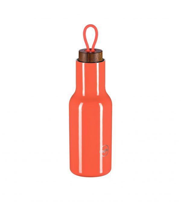 byta bottle – rosefinch color