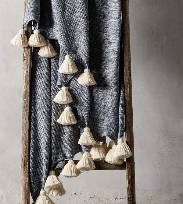Marled Knit Throw  –  Arhaus