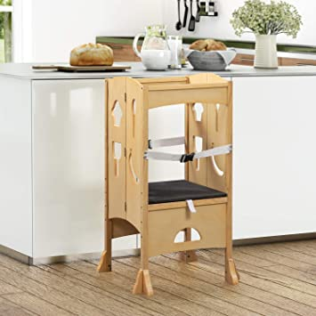 Counter Stool for Kids Natural