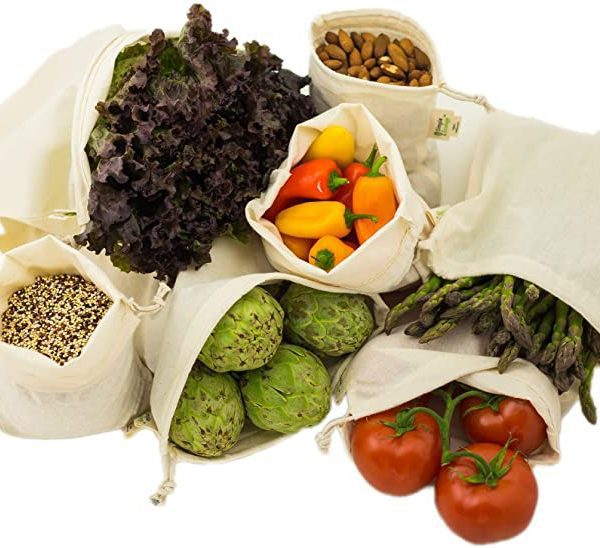 Reusable Produce Shopping and Storage Bags