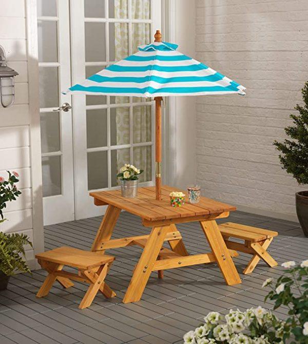 KidKraft KidKraft Wooden Outdoor Table