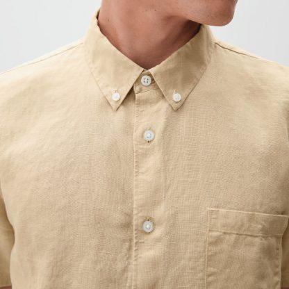 The Linen Short-Sleeve Standard Fit Shirt
