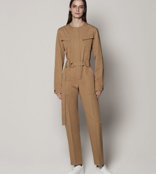 Collarless Jumpsuit by Another Tomorrow