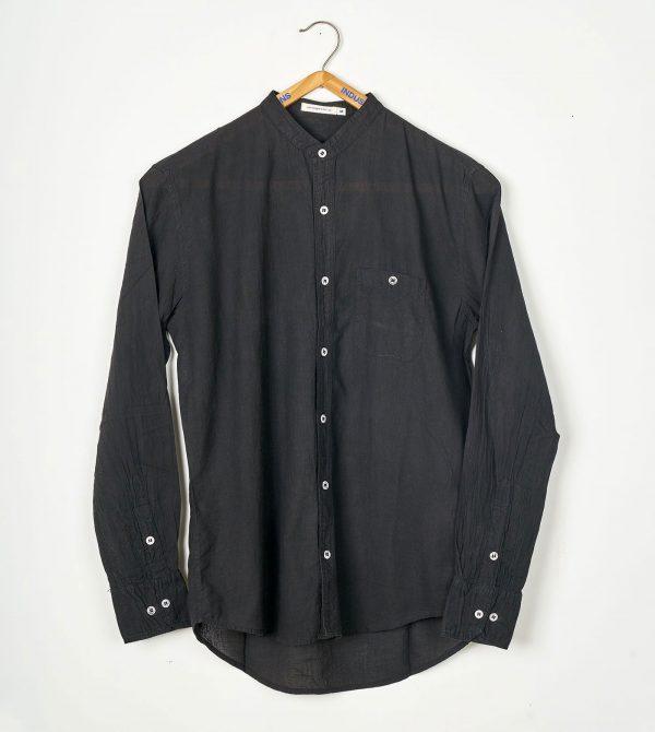 Mao Madras Shirt