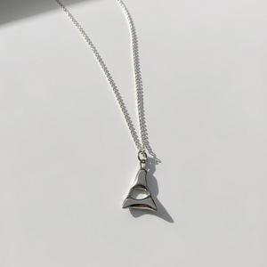 Alphabet Necklace | Silver