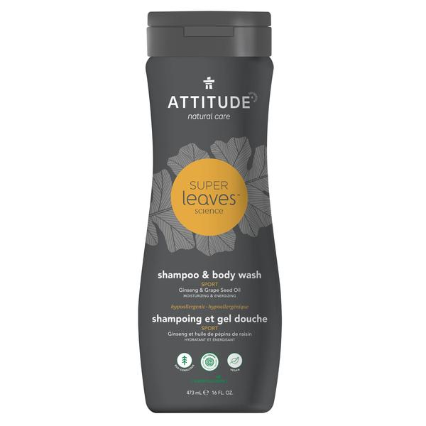 2-In-1 Shampoo and Body Wash Sport
