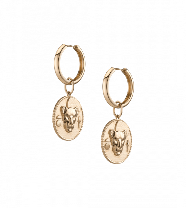 AURATE X KERRY: Lioness Pendant