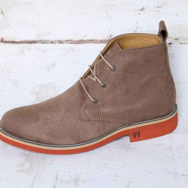 AYITA BEIGE, Desert boots, Vegan Suede