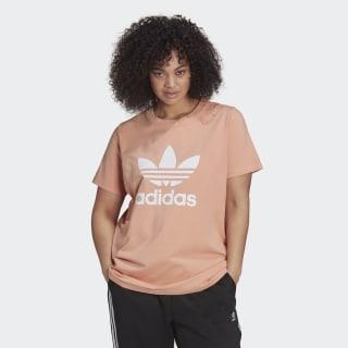 adidas Adicolor Classics Trefoil Tee (Plus Size) – Pink   adidas US