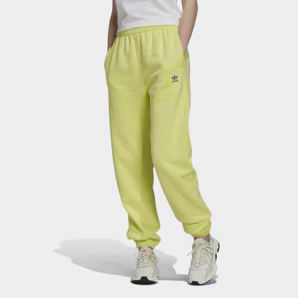 adidas Adicolor Essentials Fleece Joggers – Yellow   adidas US