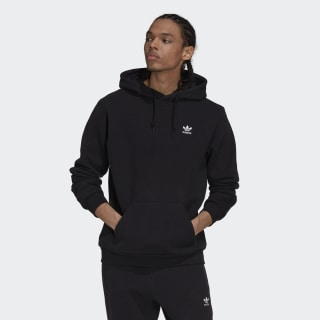 adidas Adicolor Essentials Trefoil Hoodie – Black   adidas US