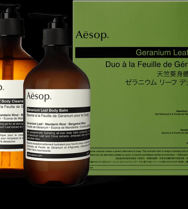 Geranium Leaf Duet   Aesop United States